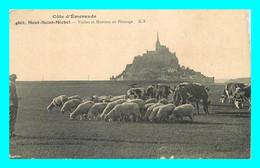A738 / 161 50 - LE MONT SAINT MICHEL Vaches Et Moutons Au Paturage - Le Mont Saint Michel