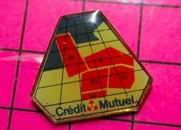 513d Pin's Pins / Beau Et Rare / THEME : BANQUES / CREDIT MUTUEL MANCHE ORNE SARTHE MAYENNE ET 49 - Banche