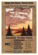 PUBLICITE    CPM    Air France Compagnie Franco-Roumaine Illustrateur Torlotim 1922 - Advertising