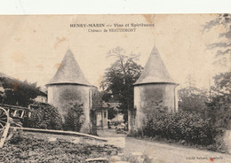 Château De BEAUZEMONT - Henry Marin  Vins Et Spiritueux - Other Municipalities