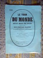 LE TOUR DU MONDE 02/07/1882 BELGIQUE ANVERS PORTES BERCHEM BOURSE ZWANELANG MARCHE HOSPICEHALLE POESJENELLE KELDER - 1850 - 1899