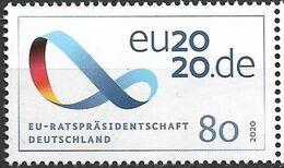 2020 Allem. Fed. Deutschland Germany Mi. 3554**MNH   Vorsitz Deutschlands Im Rat Der Europäischen Union. - Europäischer Gedanke