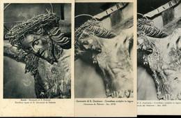 Assisi Santuario Di S Damiano Crocifisso Scolpito In Legno Innocenzo Da Palermo 6 Cartoline Postale - Otras Ciudades
