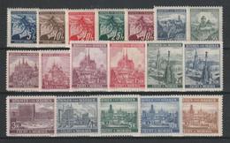 GERMANY REICH 1939 BOHEMIA & MORAVIA OCCUPATION Mi 20-37 MNH ** FULL SET - Nuevos