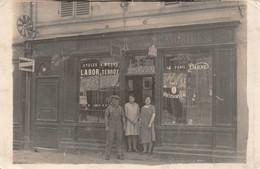 """NANTES - Carte-Photo """"Armes, Cycles, Automobiles"""" - Ancienne Maison """"DREUX"""" Rue De La Fontaine Du Lilas - Nantes"""