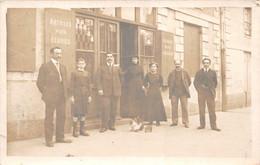 NANTES - Carte-Photo - Magasin D'un Bourreliers 6 Avenue De Launay - Annuaire De Nantes 1933 Page 735 - Nantes