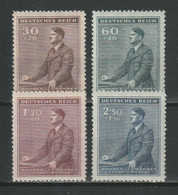 GERMANY REICH 1942 BOHEMIA & MORAVIA OCCUPATION Mi 85-88 MNH ** FULL SET - Unused Stamps