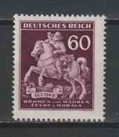 GERMANY REICH 1943 BOHEMIA & MORAVIA OCCUPATION Mi 113 MNH ** STAMP - Unused Stamps