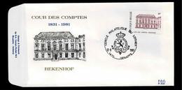 FDC :  Nr 2017 Stempel:  1470 Genappe - 1981-90