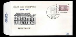 FDC :  Nr 2017 Stempel:  9900 Eeklo - 1981-90
