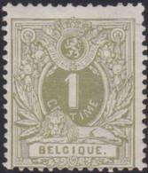 Belgie  .  OBP .    42    .   *  .    Ongebruikt Met Gom  . / .   Neuf Avec Gomme - 1869-1888 Lion Couché (Liegender Löwe)