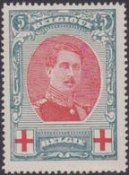 Belgie  .  OBP    .   132        .   **  .    Postfris   . / .   Neuf SANS Charnière - 1914-1915 Croix-Rouge