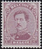 Belgie  .  OBP    .   140C  Type IV      .   **  .    Postfris   . / .   Neuf SANS Charnière - 1915-1920 Albert I