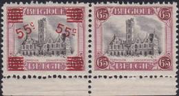 Belgie  .  OBP    .   188A      .   **  .    Postfris   . / .   Neuf SANS Charnière - Ongebruikt