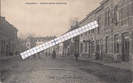 """CAPPELLEN-KAPELLEN""""ANTWERPSCHE STEENWEG-STRAATZICHT""""HOELEN N°4640 UITGIFTE 1910 - Kapellen"""