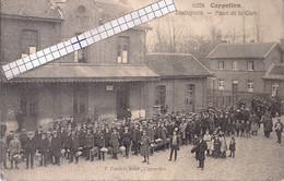 """CAPPELLEN-KAPELLEN """"STATIEPLEIN-PLACE DE LA GARE""""HOELEN N° 8278 UITGIFTE 1912 TYPE 5 - Kapellen"""