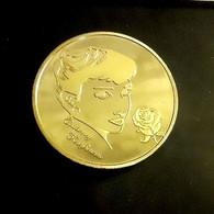 1 Pièce Plaquée OR ( GOLD Plated Coin ) - Audrey Hepburn - Altre Monete