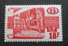 1950-52 : Cob TR328* 18F  Rouge (Légère Trace De Charnière D7 ) Voir Verso - 1942-1951