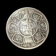 1 Pièce Bronze ( Bronze Coin ) - Civilisation Maya Azteque Mayan Aztec - Altre Monete