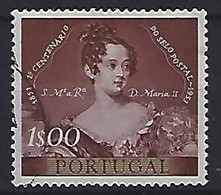 Portugal  1953  Centenary Of Portugese Stamps  1.E  (o) Mi.816 - Used Stamps
