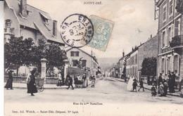 88-SAINT DIE RUE DU 10 EME BATAILLON - Saint Die