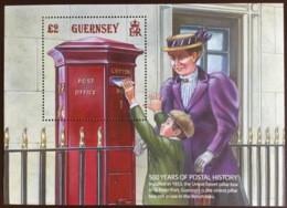 Guernsey 2016 Postal History Minisheet MNH - Guernsey