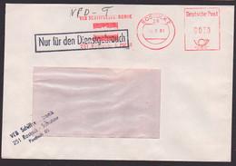 Rostock ZKD-Bf AFS =DP 0030= VEB Schiffselektronik Rostock-Schutow NfD 15.8.81 - Service