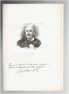 XAVIER DE MONTEPIN 1823 APREMONT 1902 PARIS ECRIVAIN ROMANCIER PORTRAIT AUTOGRAPHE BIOGRAPHIE ALBUM MARIANI - Documenti Storici
