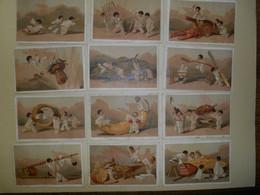 Chromo E. QUET à Bordeaux ... Idem LIEBIG : S 22 - Petits Pierrots / Pierrots Della Calotta Nera - N° 1 - 1872/1873 - Liebig
