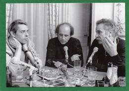 Jacques-BREL Léo -FERRE Georges -BRASSENS PHOTO J P LENOIR EDIT ART ET SCENE 1996 Impeccable - Künstler