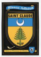 CP Adhesif 133, Blason Adhésif Kroma 789, 39 Saint St Claude - Saint Claude