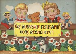 """Enfantina """"vos Nouveaux Petits Amis Vous Regardent"""" Avec Yeux Lumineux Dans Le Noir (ne Fonctionne Plus) - Ohne Zuordnung"""