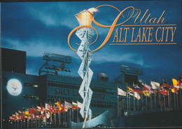 USA Postcard 2002 Salt Lake Olympic Games - Mint (G133-18) - Inverno2002: Salt Lake City