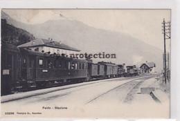 Faido - Stazione - Treno Del Gottardo Con Doppia Locomotiva A Vapore - 1909          (P-331-10122) - TI Tessin