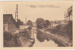 Vilvoorde - De Zenne In De Vlaanderenstraat (niet Gelopen Kaart) - Vilvoorde