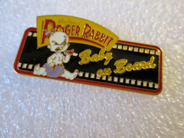 TOP PIN'S  CINEMA   DISNEY    ROGER  RABBIT   BABY ON BOARD    Email - Disney