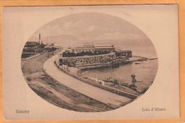 Genova Genoa Italy Old Postcard - Genova (Genoa)