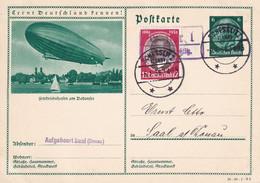 ALLEMAGNE 1936     ENTIER POSTAL/GANZSACHE/POSTAL STATIONERY  CARTE ILLUSTREE DE SCHESSLITZ - Ganzsachen