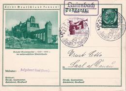 ALLEMAGNE 1935     ENTIER POSTAL/GANZSACHE/POSTAL STATIONERY  CARTE ILLUSTREE DE QUIRNBACH ÜBER KUSEL - Ganzsachen