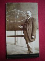 PHOTO CDV - Un Professeur De Math, Photo - Persone Anonimi