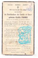DP Adel Noblesse - Clara Pirmez ° Gougnies Gerpinnes 1877 † Liège 1938 X Edmond De Fabribeckers De Cortils Et Grace - Devotion Images