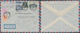 Affranch. Mixte Dont N°764 Sur Lettre Par Avion De Bruxelles (1946) > Rochelle (Illinois, USA) / Exportation - 1948 Exportation