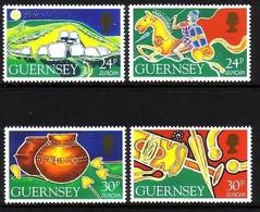 GUERNSEY MI-NR. 635-638 POSTFRISCH(MINT) EUROPA 1994 ENTDECKUNGEN Und ERFINDUNGEN - Guernsey