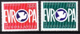 JUGOSLAWIEN MI-NR. 1617-1618 POSTFRISCH(MINT) KSZE-KONFERENZ 1975 - Ideas Europeas