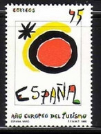 SPANIEN MI-NR. 2967 POSTFRISCH(MINT) MITLÄUFER 1990 EUROPÄISCHES JAHR DES TOURISMUS - Europese Gedachte