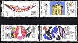 ZYPERN MI-NR. 750-753 POSTFRISCH(MINT) MITLÄUFER 1990 EUROPÄISCHES JAHR DES TOURISMUS - Europese Gedachte
