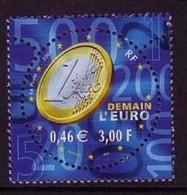 FRANKREICH MI-NR. 3542 POSTFRISCH(MINT) MITLÄUFER 2001 EINFÜHRUNG DER EURO MÜNZEN - European Ideas