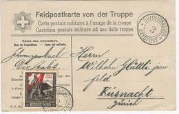 Feldpostkarte 1916 O Divisionsstab 3 - Documenti