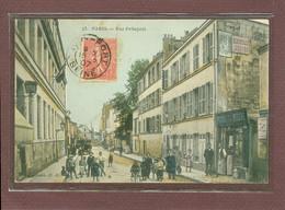 PARIS 20ème - RUE PELLEPORT - INIMITABLE DK N° 23 - EPICERIE MERCERIE - CARTE RARE - Arrondissement: 20