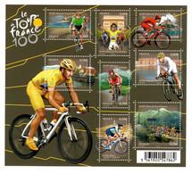 YV F4755 YV 4755 à 4762 N** Tour De France - Prix = Faciale - Nuevos